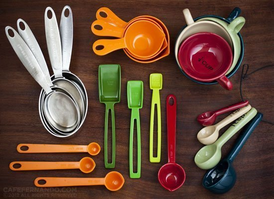 Measuring Cups and Spoons For Your Kitchen